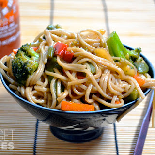 Vegetarian Teriyaki Noodles Recipes