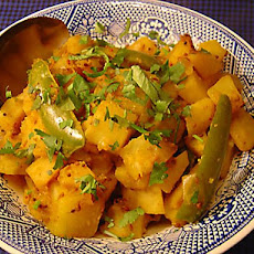Indian Potatoes with Mustard Seeds (Sookhi Bhaji)