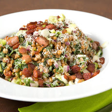 Wheatberry and Watercress Salad With Bacon Vinaigrette
