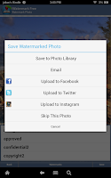 Screenshot of iWatermark Free