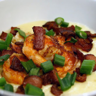 Shrimp and Grits with Bacon