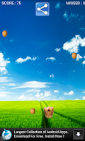 Screenshot of Egg Catcher Game Free