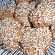 Red Wine Sesame Biscuits