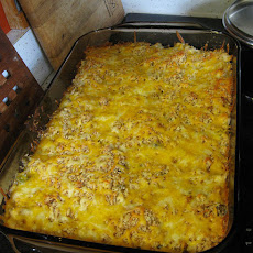 Busy Day Chicken Rice Casserole
