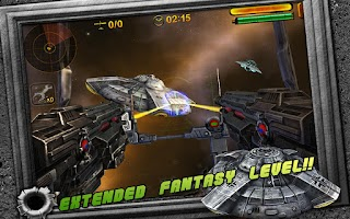 Screenshot of Turret Commander: Aerial FPS