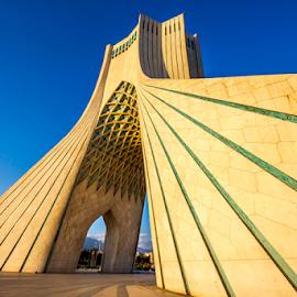 Azadi Square, Tehran by Rahul Bakshi - Buildings & Architecture Statues & Monuments ( #azadisquare #tehran #rahulsclicks #iran #iranvisitorsclicks #rahulsclicks )