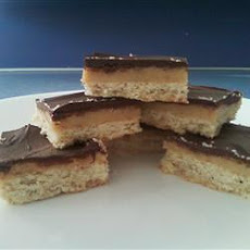 Moreish Caramel Shortbread