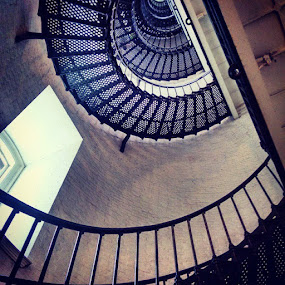 by Molly Doerner - Buildings & Architecture Other Interior ( staugustine, lighthouse, spiralstairs )