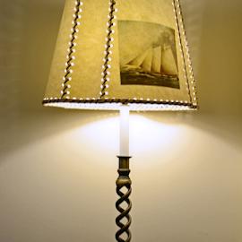 Beautiful Lamp by Kamila Romanowska - Artistic Objects Furniture ( old, vintage, beautiful, lamp, furniture )