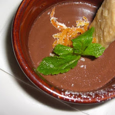 Vegan Chocolate Orange Mousse
