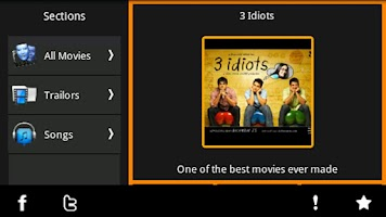 Screenshot of Hindi Films - Movies, Trailers