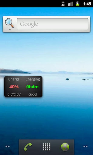 battery-info-widget for android screenshot