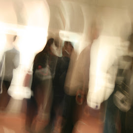 People by Stephen Smith - Abstract Light Painting