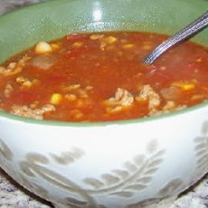 Lori's Mexican Chili Crockpot Soup