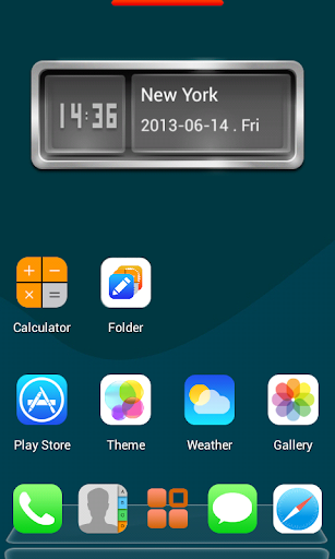 IOS 7 Next Launcher Theme 3D v1.2