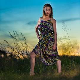 Golden hour after sunset by Terry Mendoza - People Fashion