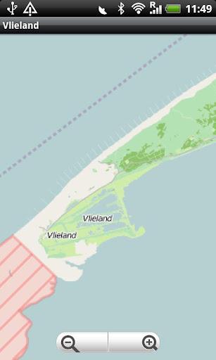 Vlieland Street Map