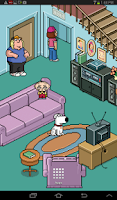 Screenshot of Family Guy Live Wallpaper