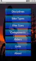 Screenshot of MTB Guide