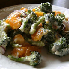 Broccoli Mandarin Salad
