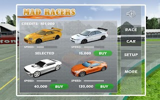 Screenshot of Mad Racers - No Police Zone