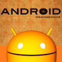 Orange soda Android icon