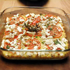 Winter Squash, Tomato And Feta Bake