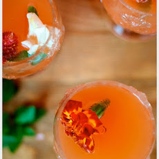 Grapefruit-Mint Bellini