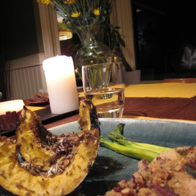 Roasted Acorn Squash + Beauty Product Review