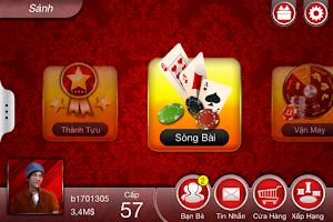 Screenshot of Trum Tien Len