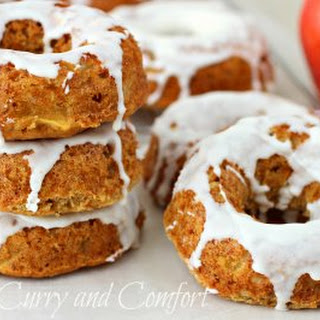 Apple Cinnamon Cake Donuts