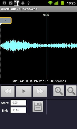 make-a-ringtone-mp3-pro for android screenshot