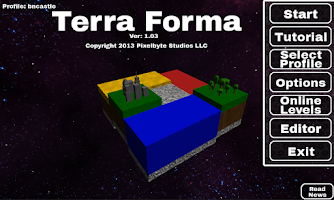 Screenshot of Terra Forma