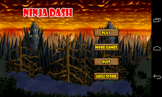 Screenshot of Ninja Dash (vs Boss)