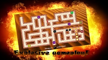 Screenshot of Bomber Ball Maze