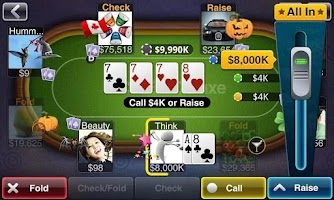 Screenshot of Texas HoldEm Poker Deluxe