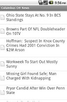 Screenshot of Columbus OH News