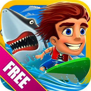 Ride rippin' waves and dodge great whites in the best surfing game on Android! APK Icon