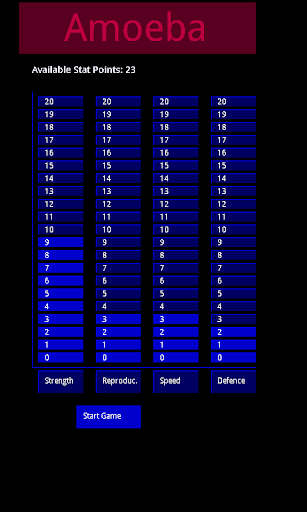 Amoeba - Virus Game