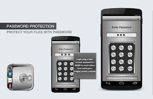 Screenshot of File Vault