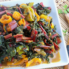 Curried Swiss Chard