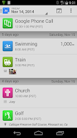 Screenshot of SwimWiz Fitness Log+