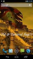 Screenshot of 3D Tibet Flag Live Wallpaper