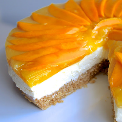 Lemon, Mango & Coconut Cheesecake