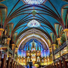 Inside Notre Dame by Giancarlo Bisone - Buildings & Architecture Places of Worship ( montreal, quebec, canada, church )