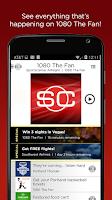 Screenshot of ESPN Sports Radio 1080 The FAN