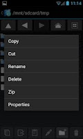 Screenshot of Explorer+ File Manager