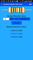Screenshot of Resistor Color Code