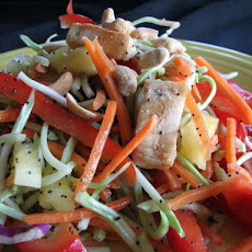 Crunchy Poppy Seed Chicken Salad