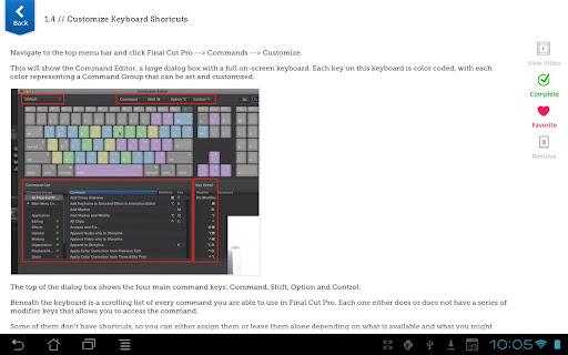 Learn Final Cut Pro X - screenshot